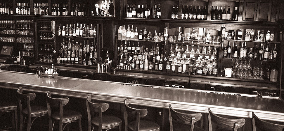 The Full Liquor Bar at La Cuisine Restaurant