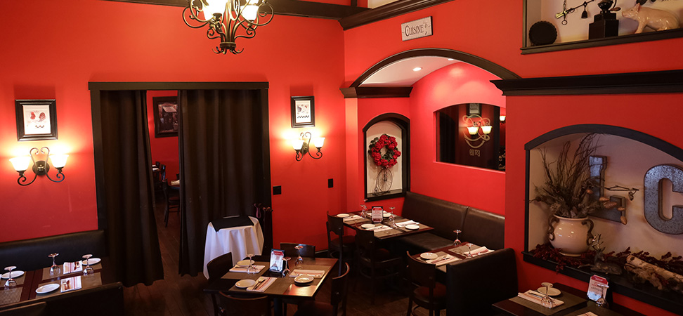 La Cuisine Restaurant Dining room