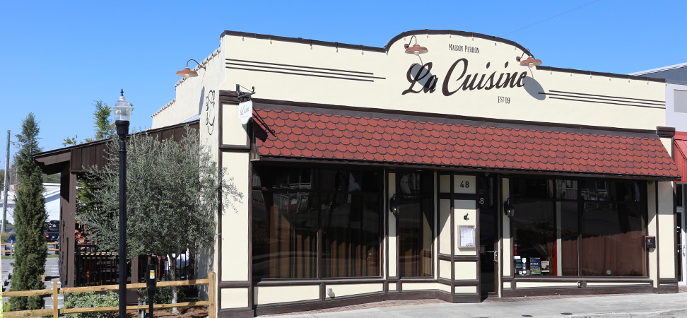 La Cuisine Restaurant Exterior and Patio